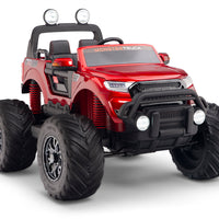 Ride On Monster Truck for Kids with Remote