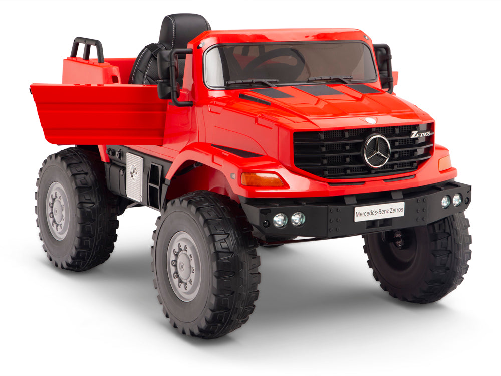 Toddler Mercedes Zetros Pickup Truck
