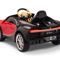 Toddler Bugatti Remote Control Ride On with Rubber Tires
