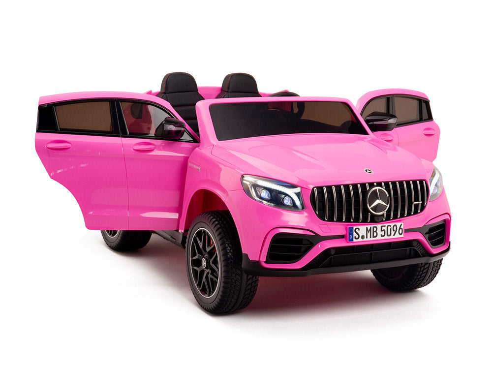 GLC 63S Two Seat Remote Control Ride On Car in Pink