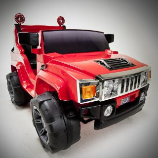 Hummer Style Ride On Truck SUV Jeep With Remote Control