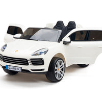 Licensed Toddler Porsche Cayenne S SUV with rubber tires