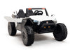 24V Ride On Buggy with Opening Doors, Remote Control and Rubber Tires