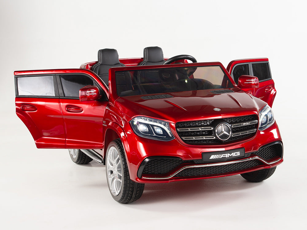 Mercedes Benz Gls63 Toddler Remote Control Ride On 2 Seat W 4 Motors Car Tots Remote Control Ride On Cars Trucks Suvs And Jeeps