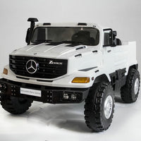 Toddler Mercedes-Benz Zetros two seat ride on truck