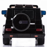 Rear Mercedes-Benz Remote Control Ride On G55 AMG G Wagon W/Rubber Tires and Opening Doors