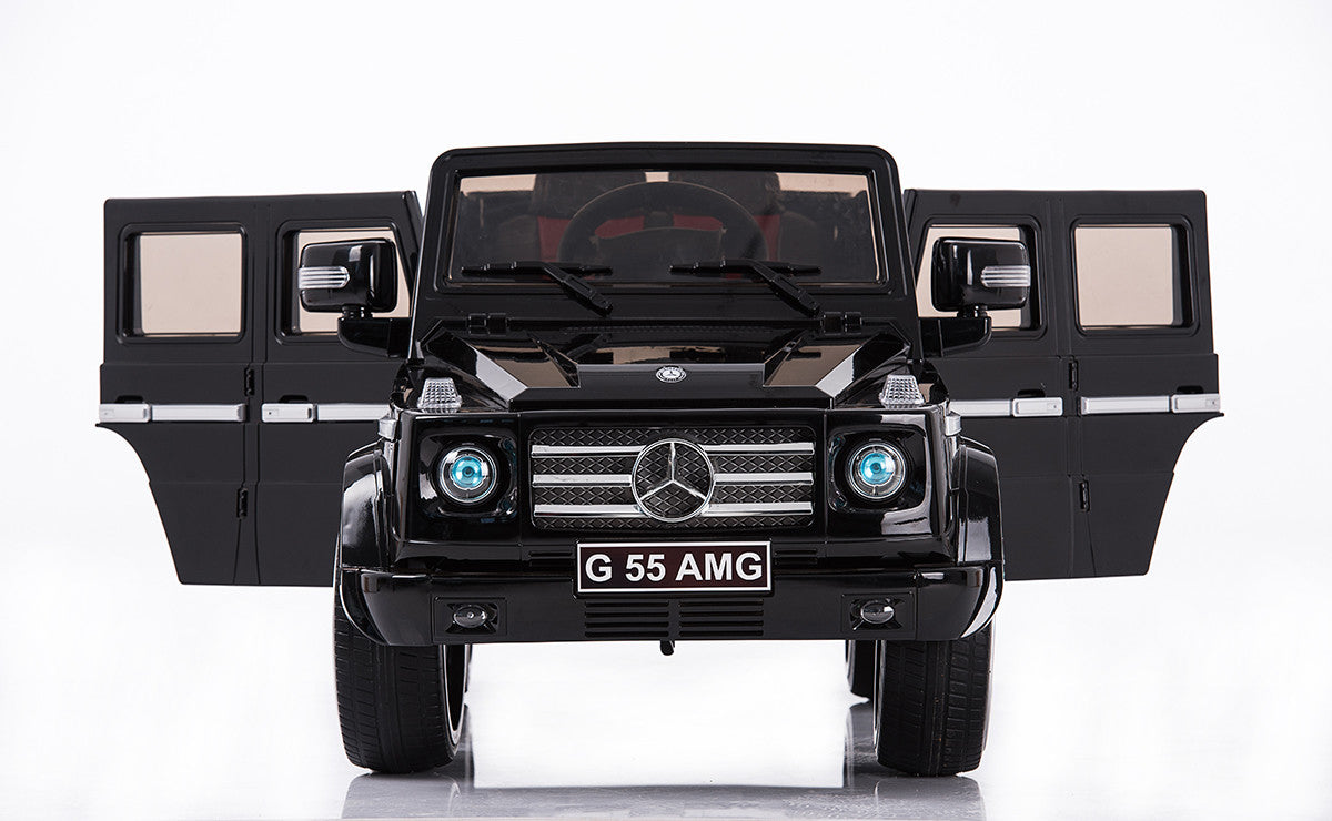 Mercedes-Benz Remote Control Ride On G55 AMG G Wagon W/Rubber Tires and Opening Doors  sc 1 st  Car Tots & Mercedes-Benz Remote Control Ride On G55 AMG G Wagon W/Rubber Tires ...