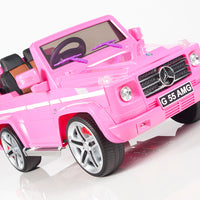 Pink Remote Control Ride On G55 Mercedes for girls