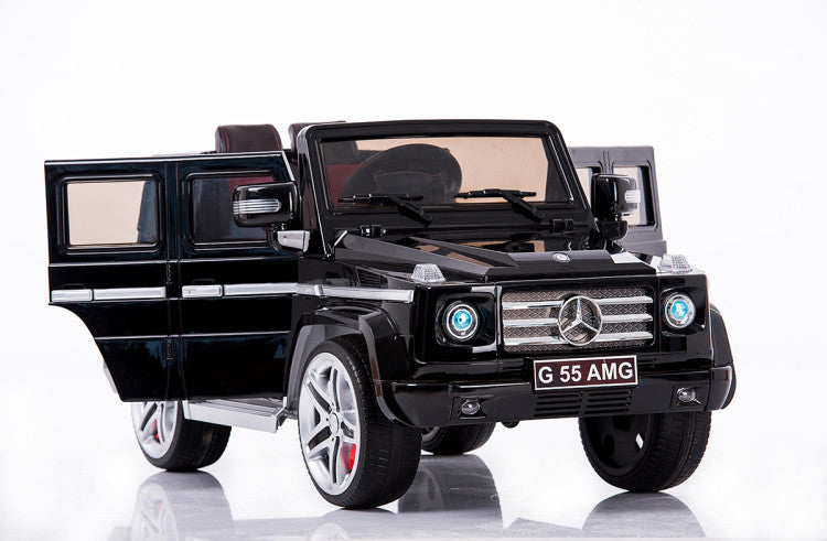 Mercedes-Benz Remote Control Ride On G55 AMG G Wagon W/Rubber Tires and Opening Doors