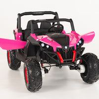 Pink Side by Side for Toddler Girls Ride On