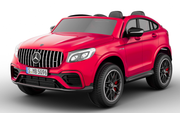 GLC 63S Two Seat Remote Control Ride On Car in Red