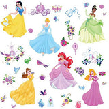 Disney Princess Peel & Stick Decals With Gems
