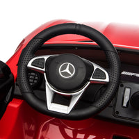 GTR Mercedes for toddlers Dashboard Steering Wheel