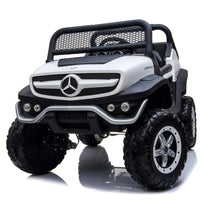 Remote Control Mercedes Toddler Unimog with Leather Seat