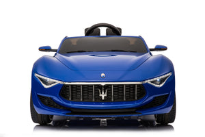 Maserati Alfieri toddler ride on car with remote control and touchscreen