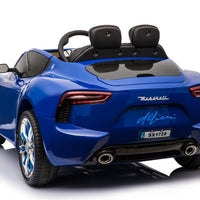 Car Tots Maserati Alfieri toddler ride on car with remote control and touchscreen