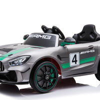 Mercedes-Benz GT4 Deluxe Toddler Remote Control Ride On Sports Car W/Video Screen