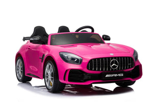 Pink Mercedes GTR for Toddlers with Remote Control
