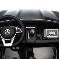 GTR Mercedes for toddlers with Steering Wheel and Foot Pedal