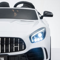 GTR Mercedes for toddlers with LED Headlights