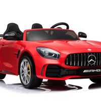 GTR Mercedes for toddlers with Rubber Tires and Two Seats