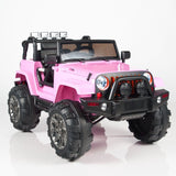 Jeep Wrangler Style Ride On Truck with 2.4G Remote Control