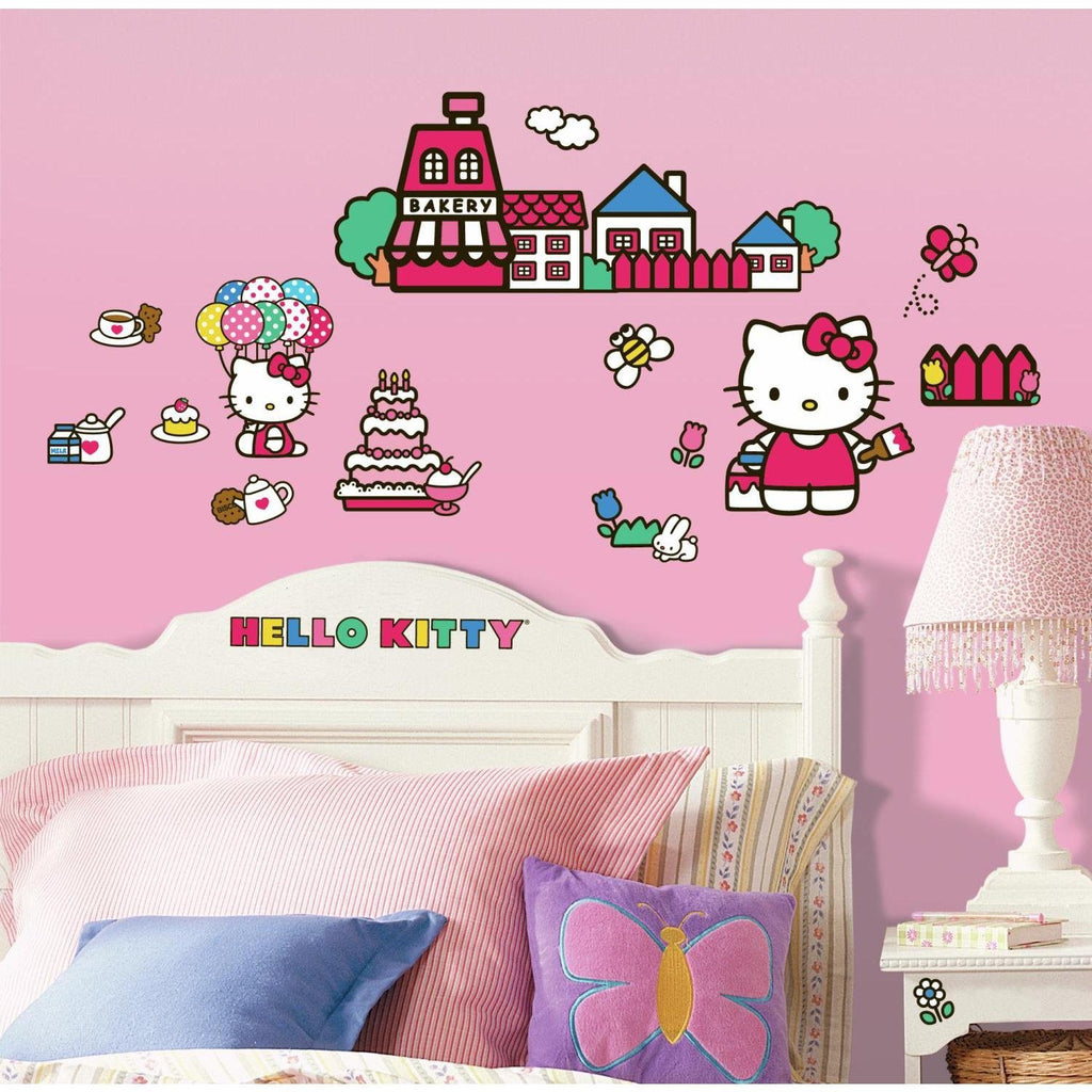 Hello Kitty The World of Hello Kitty Peel and Stick Decals