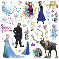 Frozen Peel and Stick Decals - 36 Count