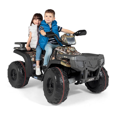 24 Volt Polaris Sportsman 850 Two Seat Ride On 4 Wheeler