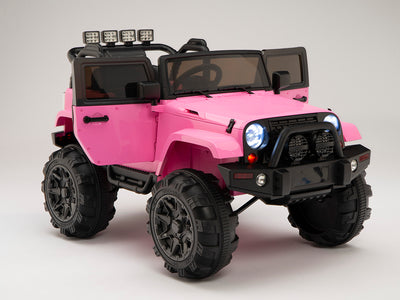 Rambler Ride On jeep with Full Doors and 2.4G Remote Control in Pink