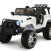 Baby ride in jeep with remote control and 4WD Four Motors