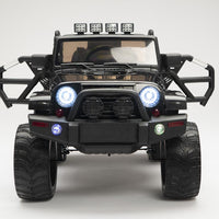 Toddler jeep with remote control and 4WD Four Motors power wheel