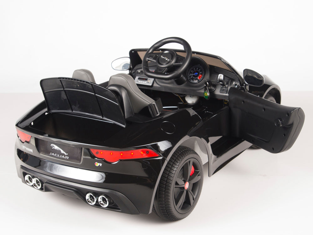Jaguar F Type Ride On Luxury Sports Car With 2 4g Remote Control