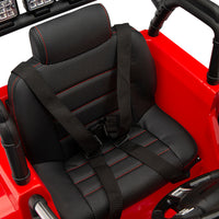 power wheel leather seat