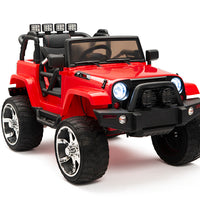 Baby jeep with remote control and 4WD Four Motors