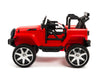 Toddler jeep with remote control and rubber tires