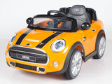 Mini Cooper Remote Control Ride On Car With Leather Seat