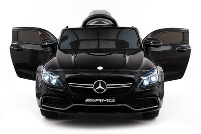Mercedes C63S AMG for Toddlers In Black from Car Tots