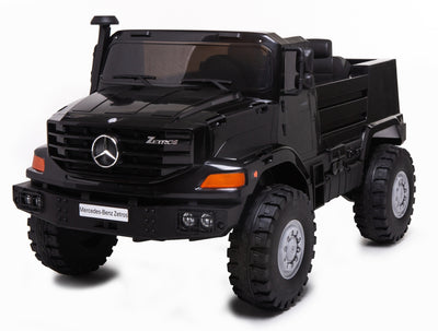 Mercedes Zetros 24 Volt Toddler Remote Control Ride On 2 Seat Versatility Truck