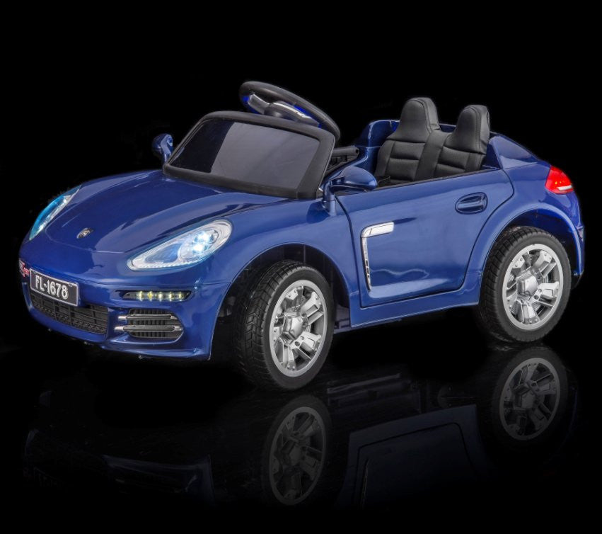 Porsche Carrera S Style Toddler Remote Control Ride On Sports Car