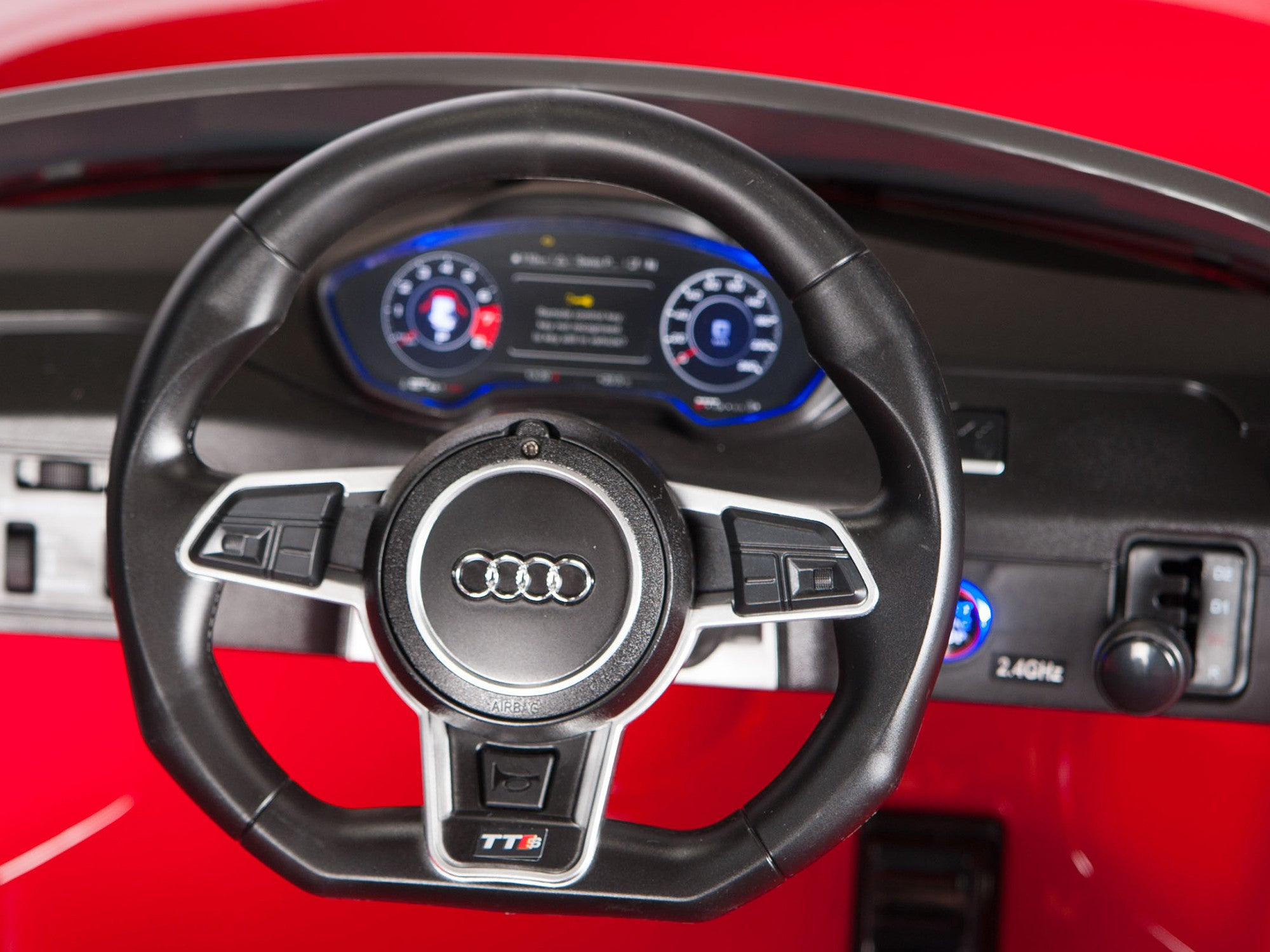 Licensed Audi TTS Roadster Electric Ride On Sports Car With Remote - Audi tts roadster
