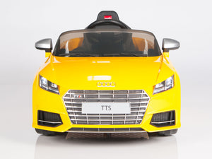 Toddler TTS Audi Yellow with Remote