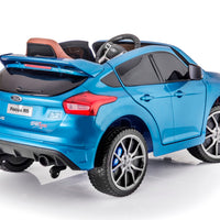 Ford Focus RS Toddler Remote Control Ride On Coupe W/Doors and Rubber Tires