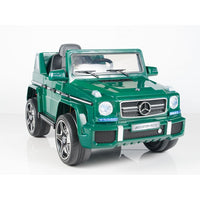 G63 Mercedes Toddler Ride On SUV with Remote Control in Green
