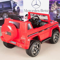 G63 Mercedes Toddler Ride On SUV with Remote Control rear