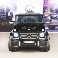 G63 Mercedes Toddler Ride On SUV with Remote Control in Black