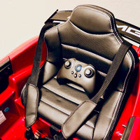 Leather Seat and Remote for Toddler Mercedes