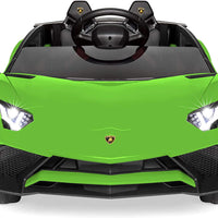 Lamborghini Aventador Roadster SV Toddler RC Ride On Supercar