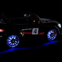 LED lights GT4 Mercedes Remote Ride On Car for Toddlers