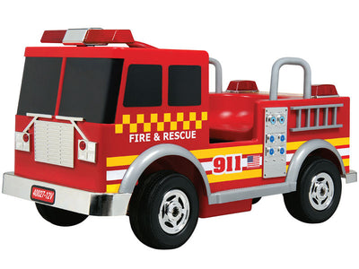 Kids Ride On Fire Truck 12 Volt